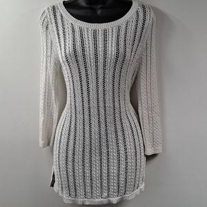 Like New! Talbots White Sweater Small